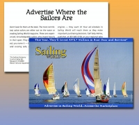 Sailing World Call to Action Post Card