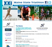 Maine State Triathlon